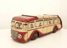 Vintage Arnold Reisebus 830 Juguete De Hojalata bus coche hecho en Alemania Occidental-mira
