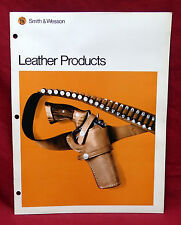 Smith and Wesson Leather Products Catalog, New/Old Stock