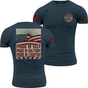 Grunt Style Ethos T-Shirt - Blue