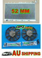 GPI Aluminium Radiator For Nissan N14 GTIR SR20DET Pulsar N15 & FANS