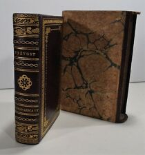 SIGNED FINE LEATHER BINDING: YSEUX, SC DE THIERRY SIMIER  Manon Lescaut PREVOST