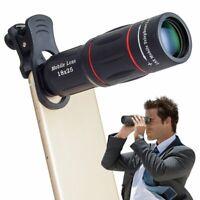 18X Clip Telephoto Telescope Camera Mobile Phone Optical Zoom Hd Lens iPhone X