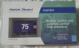 American Standard Gold 824 Digital Touch Screen Thermostat with WiFi Control