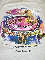 Vintage 90s Ron Jon Surf Shop Graphic Surfing  Tank Top 2XL?
