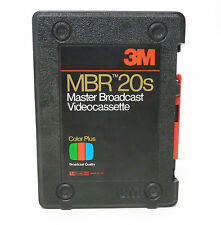 3M MBR 20s Master Broadcast U-matic Videocassette NEW