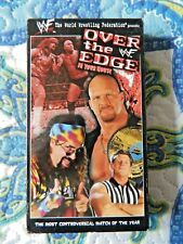 WWF Over the Edge In Your House (VHS, 1999, Steve Austin, Mick Foley, The Rock)