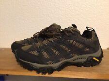 Men's Merrell Men MOAB Low Ventilator Sz 8 Trail Hiking Shoes Boots Gray Black