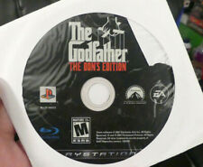 The Godfather The Don's Edition (PlayStation 3) DISC ONLY VG Condition