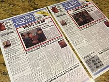 11x17 USA TODAY Set Back to the Future 2 Movie Prop Replica BTTF Print 2015