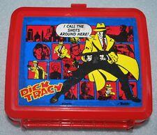 Vintage Aladdin Dick Tracy Plastic Lunchbox