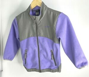Champion Toddler Girl's Fleece Full Zip Jacket With Zippered Pockets. Size 5T