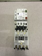 USED ALLEN-BRADLEY CONTACTOR 100-A09ND3 WITH MANUAL MOTOR PROTECTOR