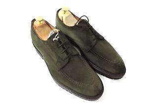 Nuevo Church's Cheaney Zapatos Hombre Verde Oliva Ante GB 9.5 US 10.5 Eu 43.5 F