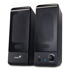 Compact USB PC Multimedia 2.0 Speakers for Home, PC, Mac, Computer, Laptop