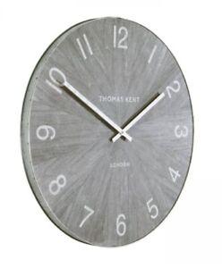 """Thomas Kent Grey Limestone Wharf 22"""" Wall Clock"""
