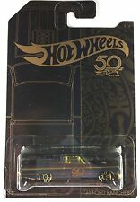 Hot Wheels 50th Anniversary 2018 Black & Golden Set of 6 Pcs 1 64