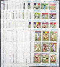 Fußball-WM 1998, Soccer - Serbien, Serbia - 73-04 4 KB ** MNH 10x