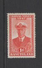 BASUTOLAND 1947 1d RED ROYAL VISIT Mint Never Hinged