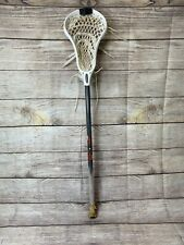"Used Warrior Evo Mini Pro Lacrosse Stick White Head 33"" Length (broken plastic)"