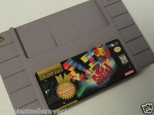 SNES Game Tetris 2 II for use with Super Nintendo Video Game System