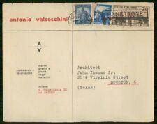 Mayfairstamps ITALY AD 1950 COVER COMMERCIO E LAVORAZIONE wwi96989