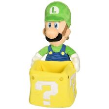 "Super Mario Luigi Coin Box 9"" Plush Toy"