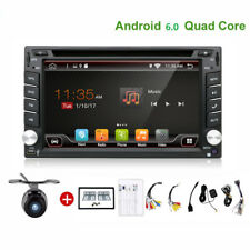 Android 6.0 Autoradio Bluetooth Navigation Doppel 2 DIN USB GPS 3G WIFI DVD+CAM