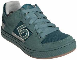 Five Ten Women's Freerider Flat Shoes   Sand / Wild Teal / Sand   9
