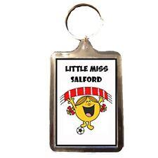 Salford City F.C - Little Miss Football Keyring