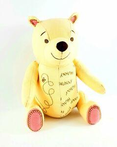 Disney Hallmark Classic Winnie The Pooh Embroidered Friendship Hunny Plush 2013
