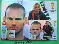 FIFA World Cup Brasil  2014 XXL Limited edition Sneijder WM 14 Panini Adrenalyn