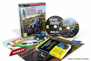 Farming Simulator 15 Collector's Edition (PC) NEW SEALED