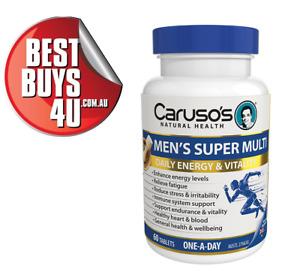 CARUSOS MEN'S SUPER MULTI ONE A DAY 60 TABLETS