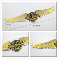 Eagle Wing Motorcycle Body Tank Emblem Badge Logo Metal Sticker