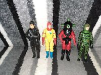 Vintage Action Force Figures lot Muton