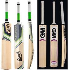 "Model Pack of 2 Pcs KOOKABURRA PLASMA + GM MOGUL ""Free Shipping""  Cricket Bats"