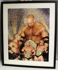 Autographed Bill Goldberg Limited Edition Lithograph Print by Danny Day