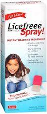 LiceFreee! Lice Killing Hair Spray 6 oz (Pack of 4)