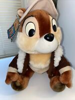 Vintage Chip n Dale Rescue Rangers Chip Plush - Disneyland Walt Disney World 12""