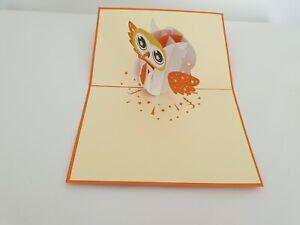 3d Popup Owl Card