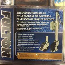 """Fulton Trailer Jack Integrated Footplate Jack Kit  FITS 6"""" WHEELS 716065"""