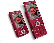 Sony Ericsson Walkman W995i RED(Unlocked) wifi GPS Cellular Phone 8.0MP