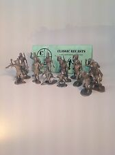 Marx Toys Zulu Warriors  Recast Daktari Natives. Free Shipping