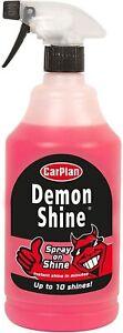 CarPlan Demon Spray On Shine Car Polish 1 L Spray Trigger Bottle