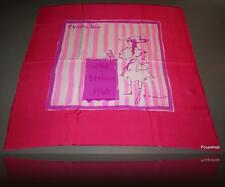 YVES SAINT LAURENT DIOR 1960 BONHEUR carre tusch foulard scarf 65 Excellent !
