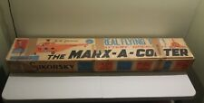 ULTRA RARE ORIGINAL 1961 MARX-A-COPTER-SIKORSKY HELICOPTER FLYING TOY BOX ONLY