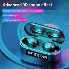 Original AMOIF9-6 V8 Bluetooth Earphone Wireless Earbuds TWS Stereo Headset Bass