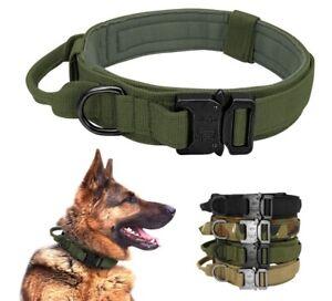 Dog Collar Puppy Big Dogs Tactical Collars Military Dog Training German Shepherd