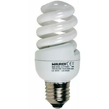 Lampadina Risparmio Energetico Spiral Compact E27 15W Luce Fredda Maurer