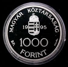 Hongrie 1000 forint 1995 Argent Proof - 18.000 ex